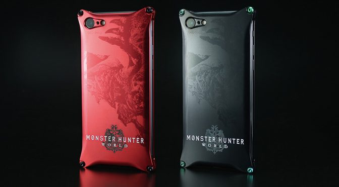Capcom x GILD Design Monster Hunter World iPhone Case