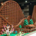 "This Custom LEGO ""Wooden"" EL Toro Roller Coaster Is A Whopping 21F Long!"