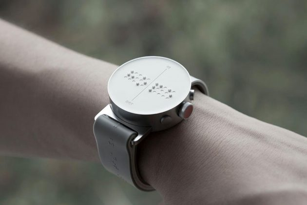 Dot Watch Braille and Tactile Smartwatch for the Visually Impaired