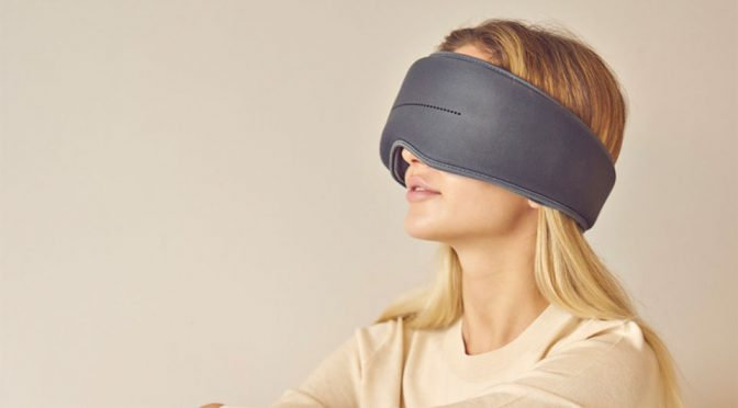 This New Kind Of High-Tech Sleep Mask Will Help You To Sleep Better