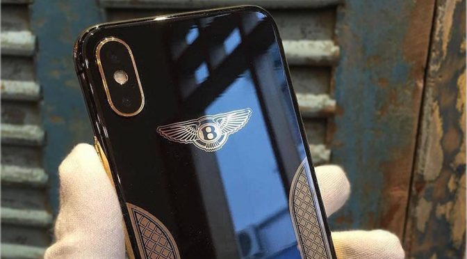 Golden Ace Custom Limited Edition iPhone X Bentley Edition