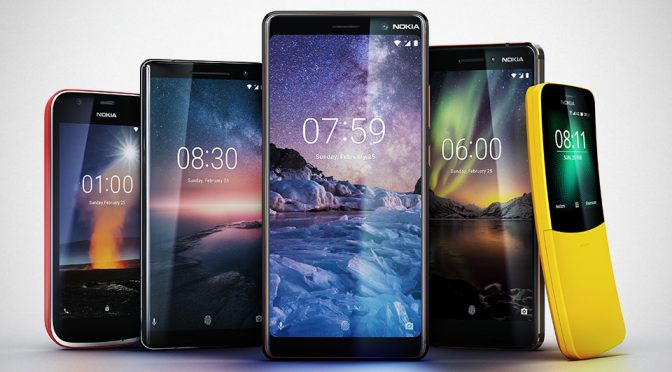HMD Announces Four New Android Phones