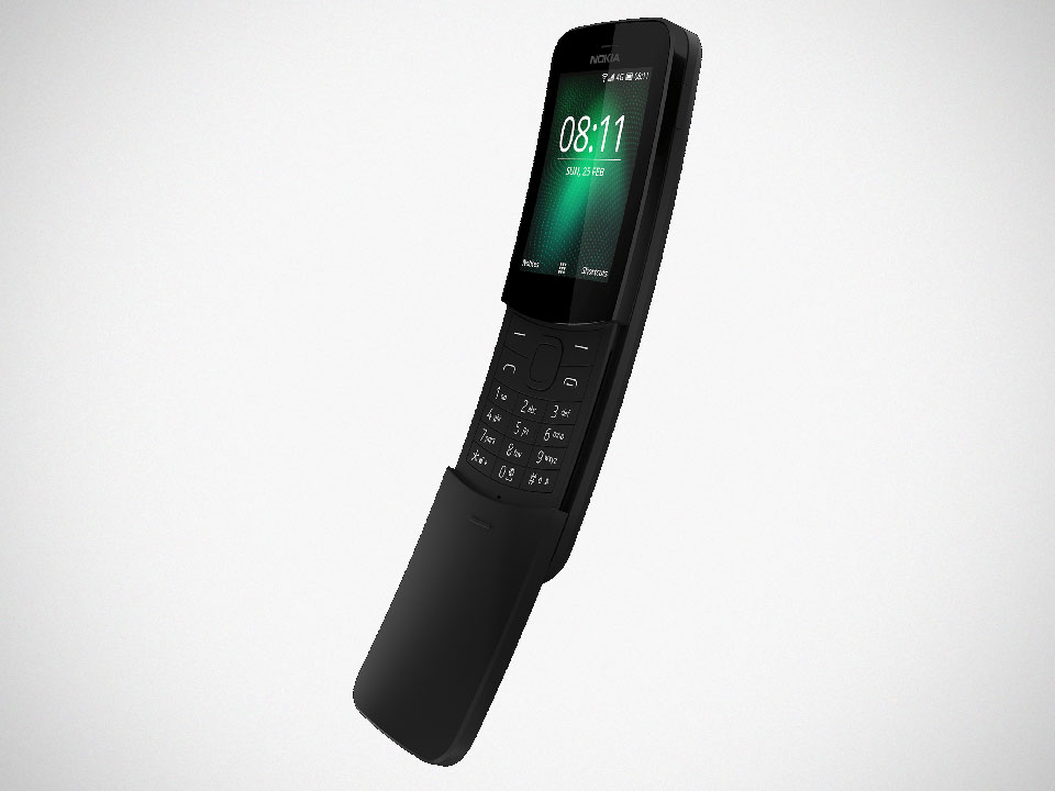"HMD Reviving Nokia 8110 ""Banana"" Phone with Android OS"