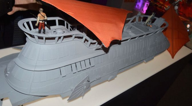 Hasbro Is Selling Jabba's Sail Barge Via A Kickstarter-like Pre-sale Campaign
