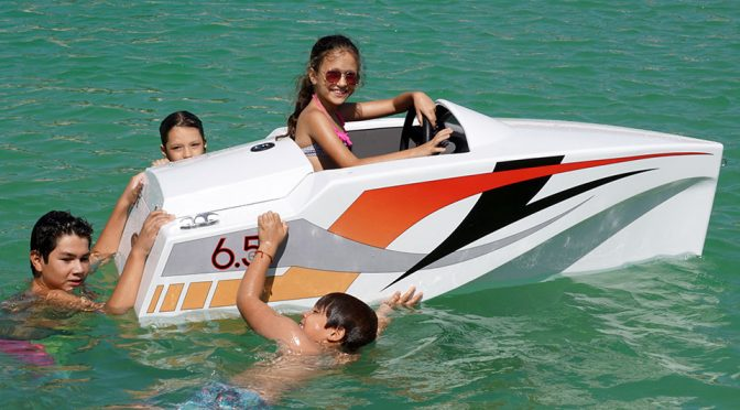 JimBoats 6.5 Is A Sea-faring Ride-on For Kids That (Some) Adults Can Ride Too