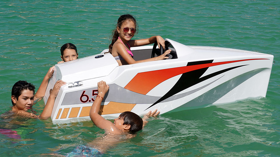 Jimboats 6 5 Is A Sea Faring Ride On For Kids That Some