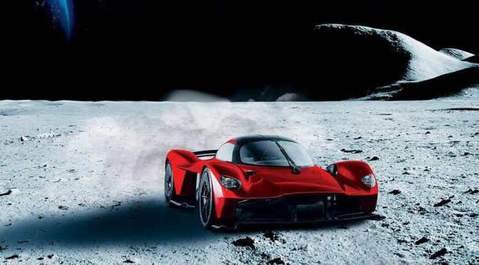 A Super Rich Person's Aston Martin Valkyrie Is Going To Have A Moon Dust-infused Paint Job