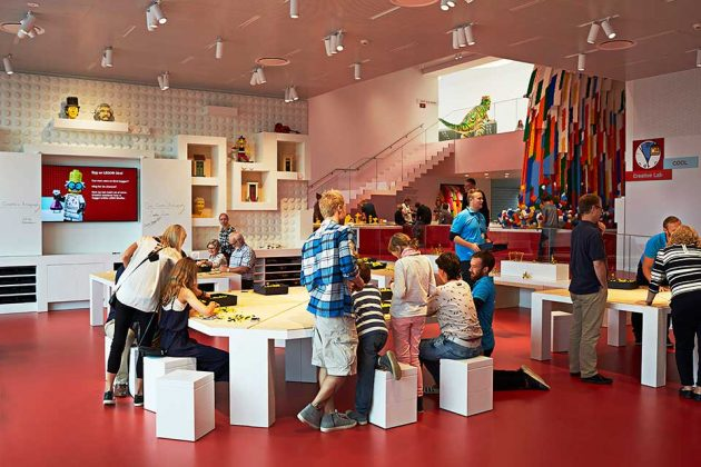 LEGO House: Red Zone - Creative Lab