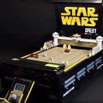 I Want This LEGO Arcade Of The <em>Star Wars</em> Pod Racing So Very Badly!