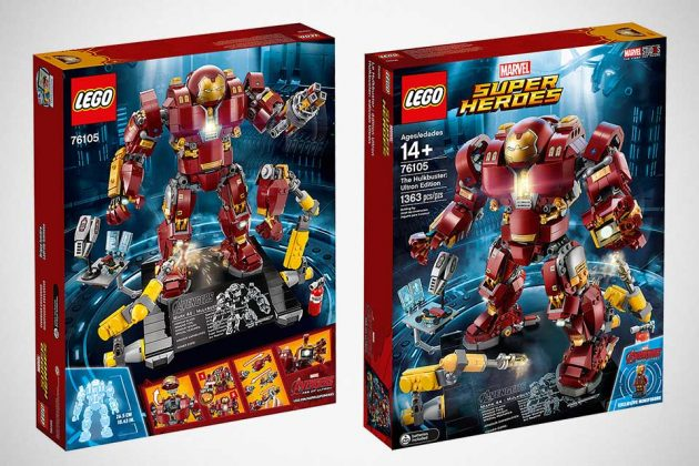 LEGO UCS Hulkbuster: Ultron Edition Set at New York Toy Fair 2018
