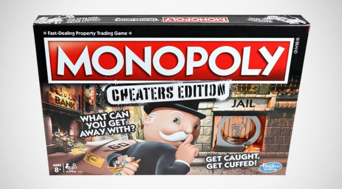 Monopoly's Newest Edition Beckons You To Cheat By Helping You To Cheat