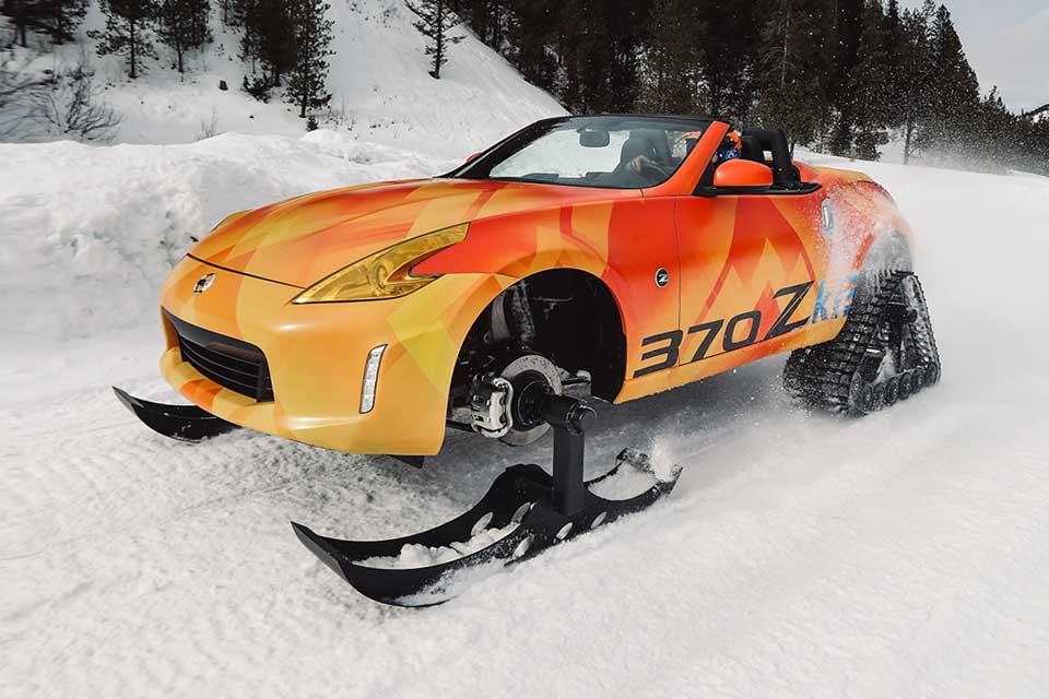 "Nissan One-off 370Z Roadster ""Snowmobile"" 370Zki"