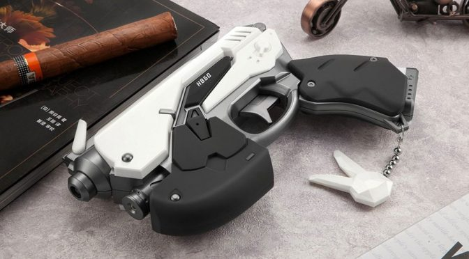 Overwatch D.Va White Rabbit Power Bank Prop Gun