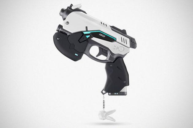 Overwatch D.Va White Rabbit Power Bank Prop Gun