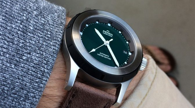 I Don't Care If Peren Nera Is A Neo-Vintage Watch, It Just Looks Ridiculously Awesome