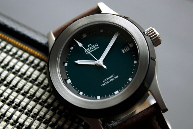Peren Nera Swiss-made Neo-vintage Automatic Watch
