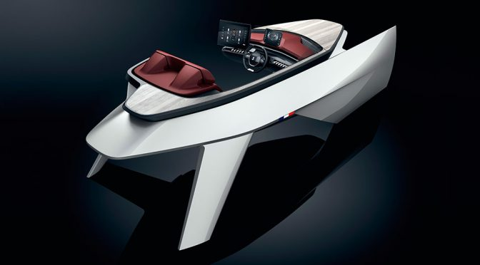 Peugeot Worked With Beneteau Boats To Put i-Cockpit Into Boats