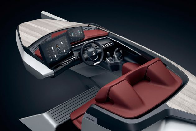 Peugeot x Beneteau Boats Sea Drive Concept