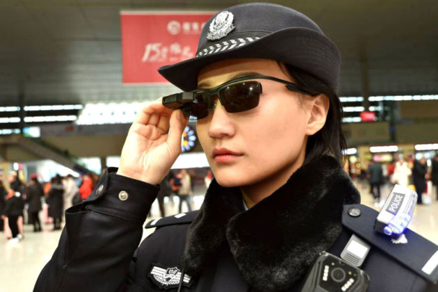 Police in China Uses Facial Recognition Glasses To Catch Fugitives