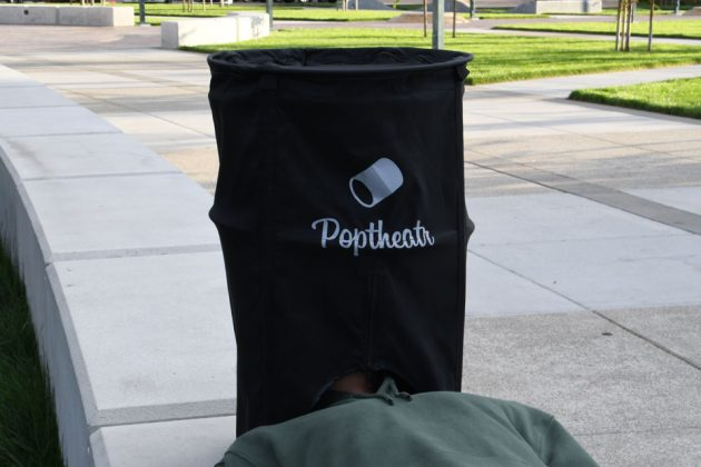 Poptheatr Turns Your Mobile Device Into A Private Cinema Anywhere