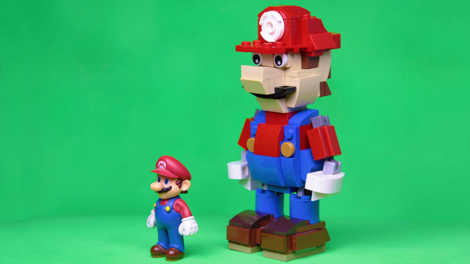 Guy Built A Posable Lego Mario Figure Teaches You How To Built One