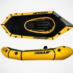 This Inflatable Raft Actually Rolls Up To The Size Of Paper Towels