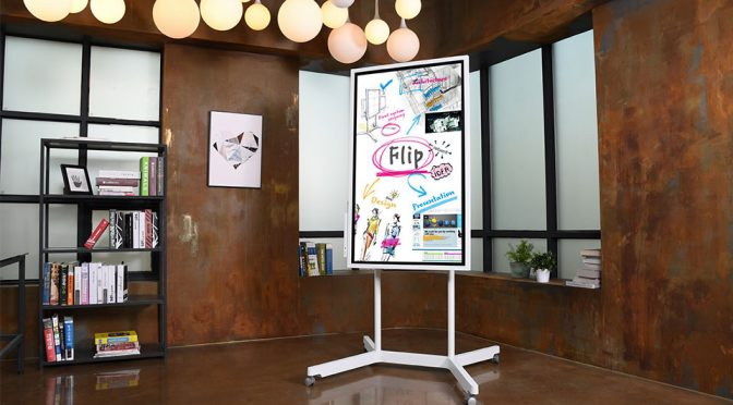 Samsung Wants You To Scribble On A $2,700 Whiteboard Called Flip