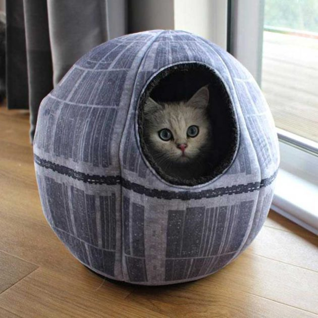 Star Wars Death Star Pet Cave from The Fowndry