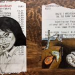 Doodles On Receipts Are Art Like You Have Never Seen Them Before