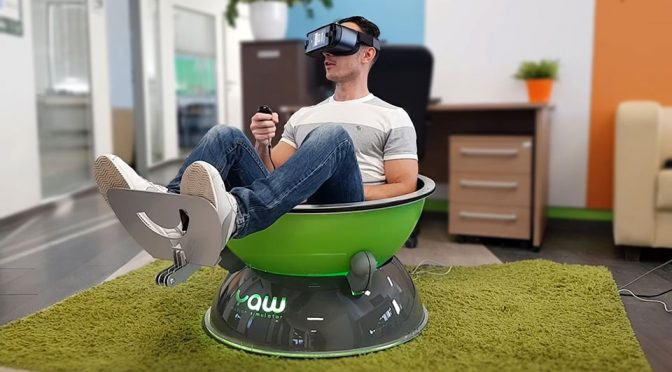 Yaw VR Compact Portable Motion Simulator