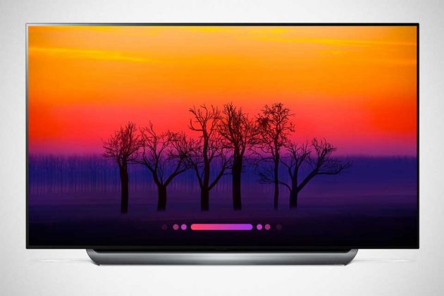 2018 LG Super UHD TV with ThinQ AI C8 Series