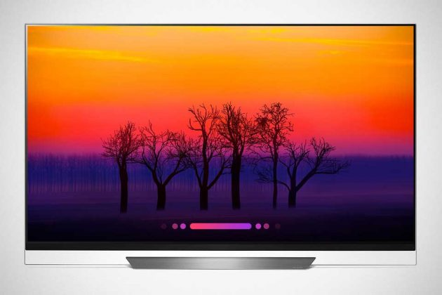 2018 LG Super UHD TV with ThinQ AI E8 Series