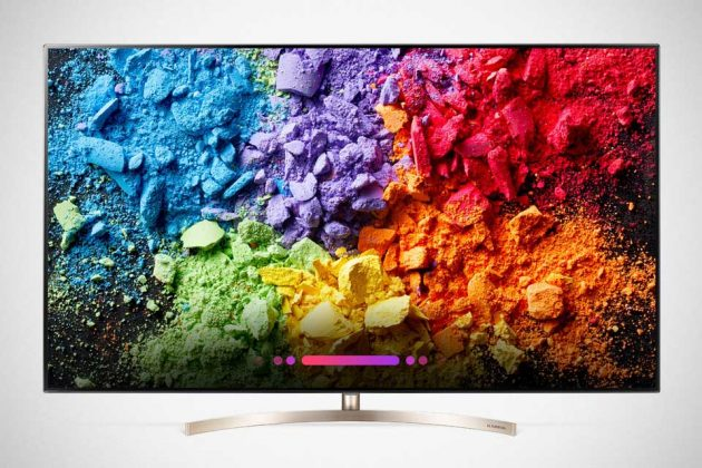 2018 LG Super UHD TV with ThinQ AI SK95 Model