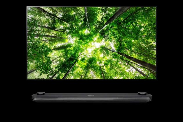 2018 LG Super UHD TV with ThinQ AI W8 Series