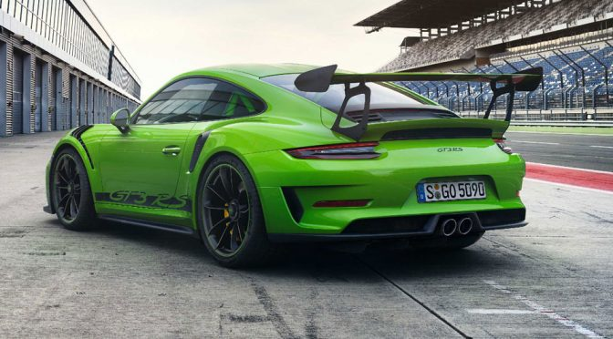 2018 Porsche 911 GT3 RS Road-approved Sports Car
