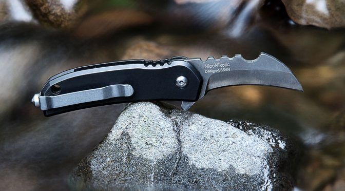 Black Panther Titanium Micro Blade by SMRT Gadget