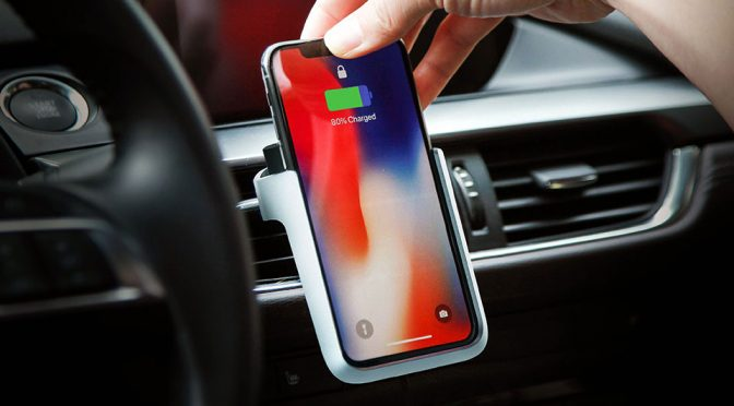 Boltron Wireless Charging Cradle for Automobile
