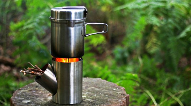 Kombuis Portable Stove/Cooking Set Is The Start Of Camping Light