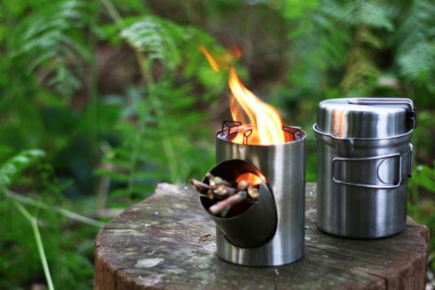 By Arnaud Kombuis Portable Stove/Cooking Set