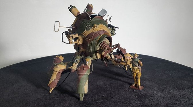 Machination Studio's New Light Walker Scale Model Is On Kickstarter