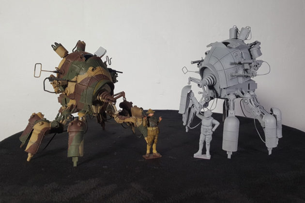 Codename Colossus M1A2 Light Walker Scale Model