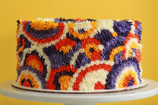 Custom Shag Rug Cakes by Alana Jones-Mann