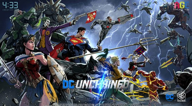DC: Unchained Mobile Game by FourThirtyThree Inc.