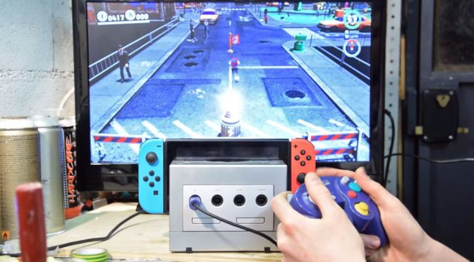 Someone Turned A GameCube Into A Dock For Nintendo Switch