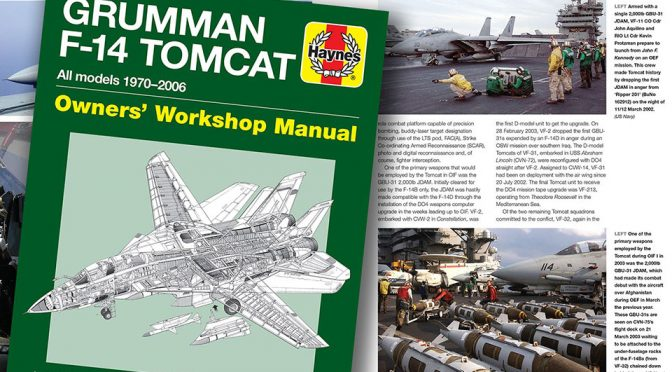 Grumman F14 Tomcat Owners' Workshop Manual