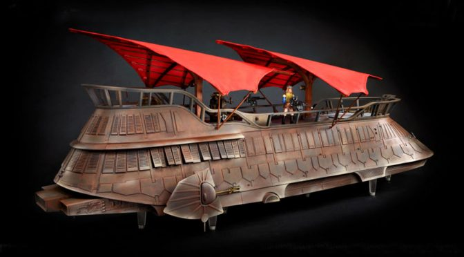Crowdfunding Hasbro Jabba's Sail Barge Gets A Paint Job And Some Extras