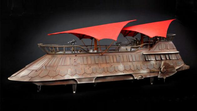 Hasbro Star Wars Vintage Collection Jabba Sail Barge Painted