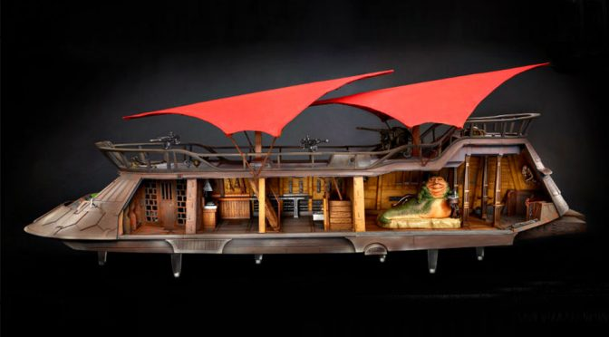 Hasbro Jabba's Sail Barge Gets Funded Just When We Thought It Wouldn't