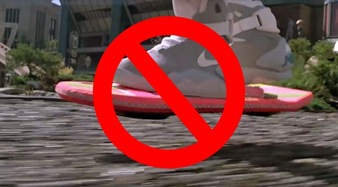 How Hoverboards Work Not In <em>Back To The Future II</em>