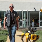 Jeff Bezos Tweeted A Picture Of Himself Walking A Robotic Dog